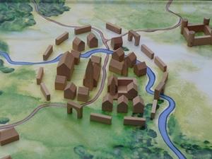 Foto Middeleeuwse stad